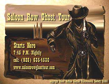 Saloon Row Ghost Tour
