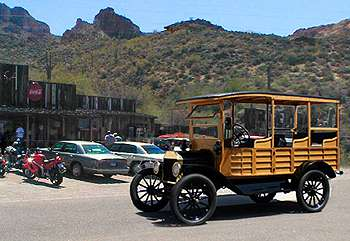1915 Model-T Tours on the Apache Trail