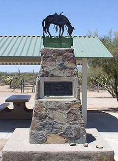 Tom Mix Monument