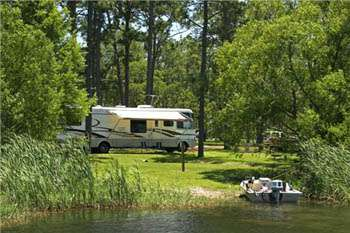 Lake Seminole COE Campgrounds