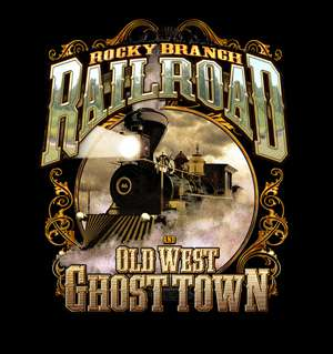 Rocky Branch Railroad and Old West Ghost Town