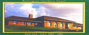 Burlington Northern Depot and World War II Memorial Museum