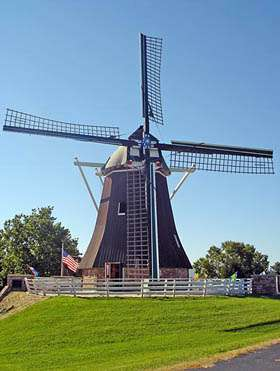 Authentic Dutch Windmill