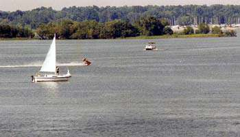 Carlyle Lake Boating and Sailing