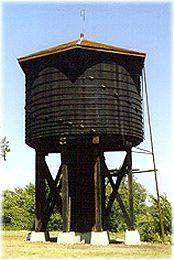 Old Frisco Wooden Water Tower