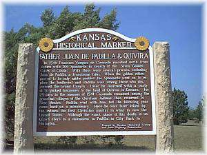 Father Padilla Historical Marker