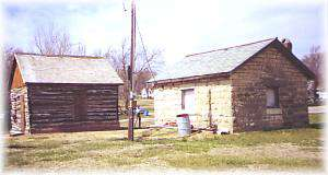 City Well and Log Cabin