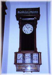 Kingman Library Clock