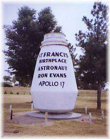 Apollo 17 Marker