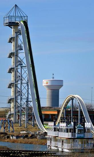 Verrückt -- World's Tallest Waterslide!
