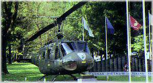 Huey Helicopter & Veteran's Memorial