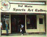 Ted Watts Sports Art Gallery