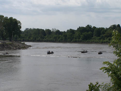 Neosho River Dam Fishing
