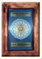 Martha Washington Plate