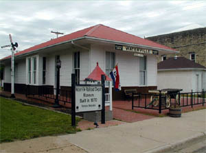 Waterville's Railroad Depot Museum
