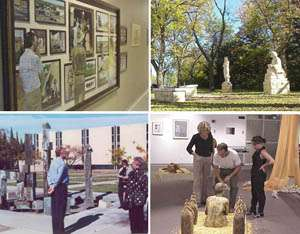 Walking Tour of Art Displays