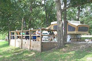 Pomme de Terre Campgrounds