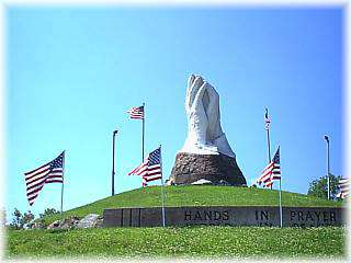 Praying Hands Memorial