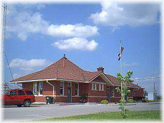 Missouri Pacific Train Station Museum