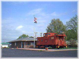 Frisco Caboose and Visitor Center