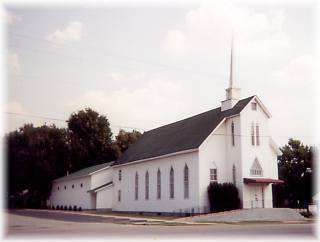 First Baptist Church (no longer standing)