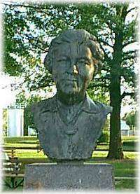 Bust of Laura Ingalls Wilder