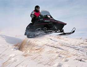 Devils Lake Snowmobiling