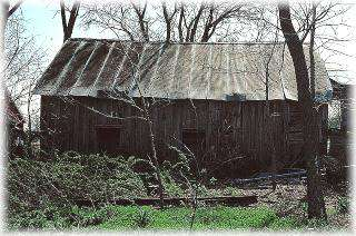 John Henry Stork Log House - NHR