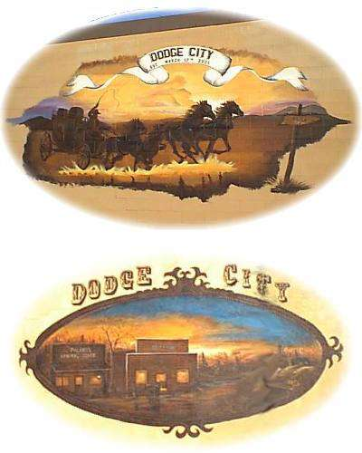 Dodge City Murals