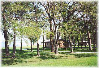 Lewis and Clark Lake Cabins