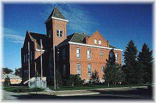 Sheridan County Courthouse - NHR (Rushville)