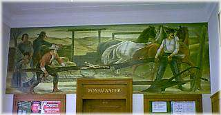 Post Office W.P.A. Mural