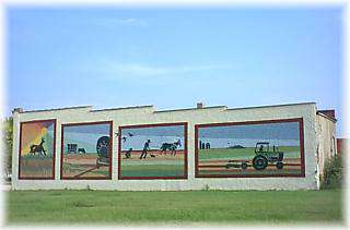 74-foot Outdoor Mural