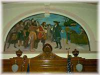 Courtroom Mural