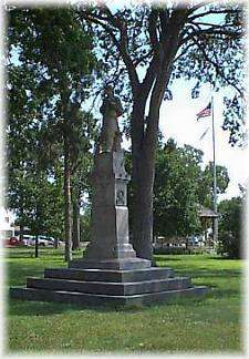 Civil  War Veteran's Memorial, Gazebo Park