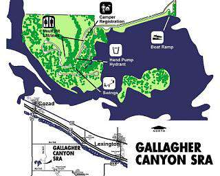 Gallagher and Phillips Canyon Lakes