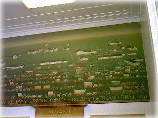 WPA Post Office Mural