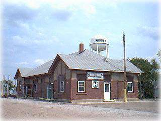 Burlington-Northern Depot