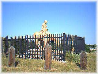 Boot Hill Sculpture