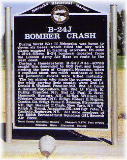 B-24 Bomber Crash Memorial