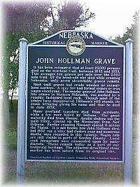 The Hollman Grave Historical Marker