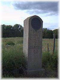 Directional Stone Marker