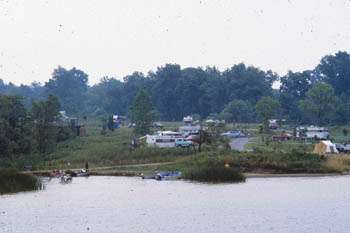 Alum Creek Lake Campgrounds
