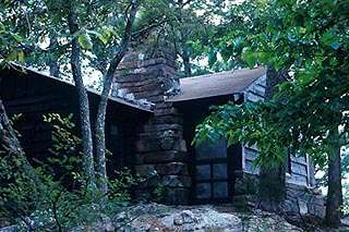 Robber's Cave SP Cabins