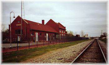 Rock Island Railroad Depot/Public Library