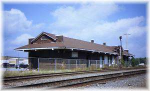 The Old Kansas City Southern Railroad Station