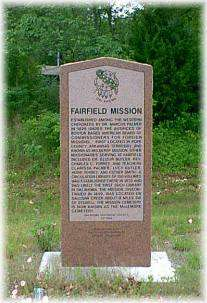 Fairfield Mission Monument