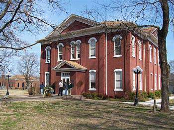 Old Cherokee Capitol Building