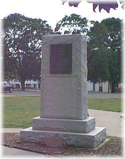 Monument to General Stand Watie