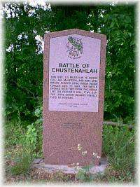 Battle of Chustenahlah Site